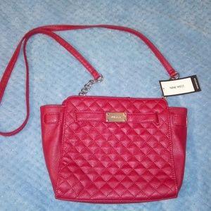 Nine West women's red crossbody handbag